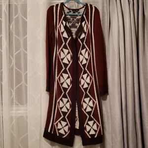 Forever 21 long cardigan sweater